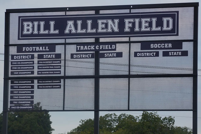 Image result for Bill Allen Field